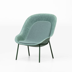 Nook PET Felt Lounge Chair | Armchairs | De Vorm