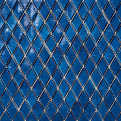 Diamond - Iolite | Glass mosaics | SICIS