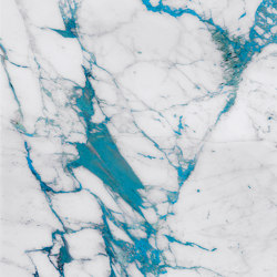 Vetrite Marble Cal Turchese | Decorative glass | SICIS