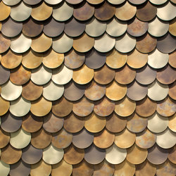 Circle Wall | Metal tiles | De Castelli