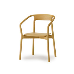 Armchair - wood seat | Chairs | Conde House Co., Ltd Japan