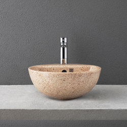 Soft 40 with faucet place | Wash basins | Woodio