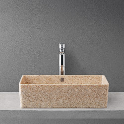 Cube 60 with faucet place | Wash basins | Woodio