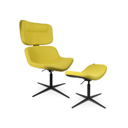W-Lounge Chair 3 with stool | Armchairs | Wagner