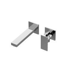 Incanto - Wall-mounted basin mixer with 19,1cm spout (Trim only) | Bath taps | Graff