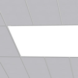 FABRICated Luminaires - Grid (T-bar) | Lámparas empotrables de techo | Cooledge