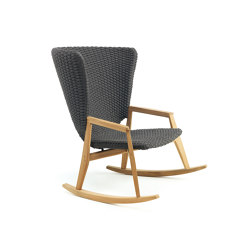 Knit Rocking chair | Sillones | Ethimo