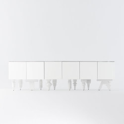 Showtime 10 Multileg Cabinet | Sideboards / Kommoden | BD Barcelona