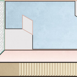 Tre | Wall coverings / wallpapers | LONDONART