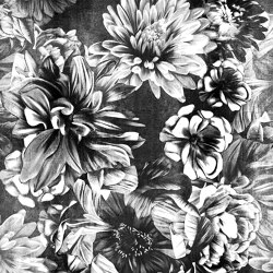 Dark Floral | Wall coverings / wallpapers | LONDONART