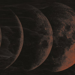 Moon | Wall coverings / wallpapers | LONDONART