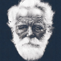 The Old Man | Carta parati / tappezzeria | LONDONART