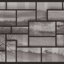 Framed Memory | Carta parati / tappezzeria | LONDONART