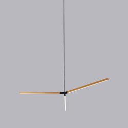 Middle Single Bough | Suspended lights | STICKBULB