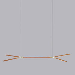 Middle Double Bough | Suspended lights | STICKBULB