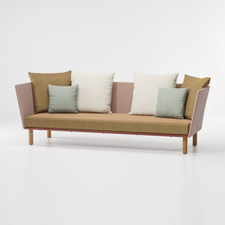 Bitta 3 seater sofa parallels | Sofás | KETTAL