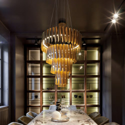 BK Chandelier | Suspended lights | HENGE