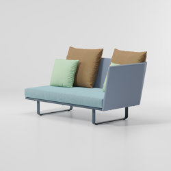 Bitta right corner module | Sofas | KETTAL