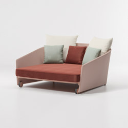 Bitta lounge daybed parallel | Sofás | KETTAL