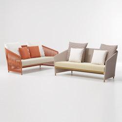 Bitta lounge 2-seater sofa | Sofas | KETTAL
