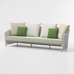 Bitta lounge 3-seater sofa | Sofas | KETTAL
