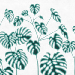 Foglie Verdi | Carta parati / tappezzeria | LONDONART