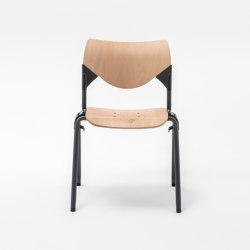 Gate Wood square chair 6000 | Chairs | Mara