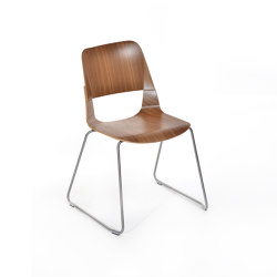 Frigate stacking chair | Sillas | PlyDesign