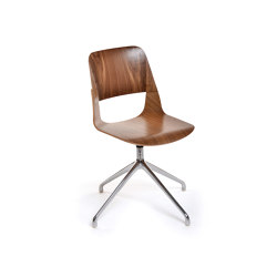 Frigate Chair with swivel base | Sedie | PlyDesign