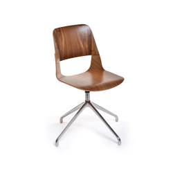Frigate Chair with swivel base | Sillas | PlyDesign