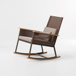 Landscape rocking chair | Armchairs | KETTAL