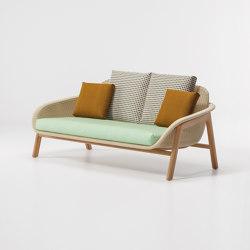 Vimini 2-place sofa | Sofás | KETTAL