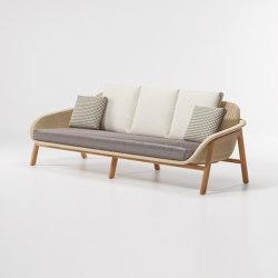 Vimini 3-place sofa | Canapés | KETTAL