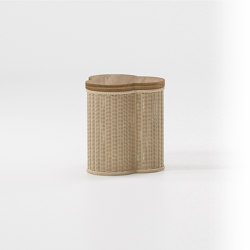 Vimini side table trefoil | Tavolini alti | KETTAL