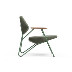 Polygon Easy Chair Outdoor | Armchairs | Prostoria