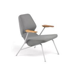 Oblique Easy Chair Metal Outdoor | Armchairs | Prostoria