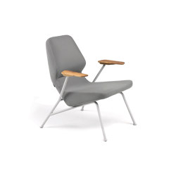 Oblique easy chair outdoor | Armchairs | Prostoria