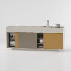 Objects outdoor Kitchen | Compact outdoor kitchens | KETTAL