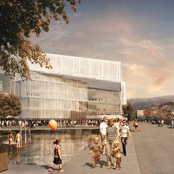 Fibra Oslo facade | Facade systems | Saimex