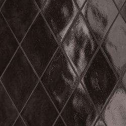 Ossidi | Nero Glossy Rmb | Ceramic flooring | Marca Corona