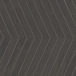 Lagom | Coated Black Chevron A+B | Ceramic flooring | Marca Corona