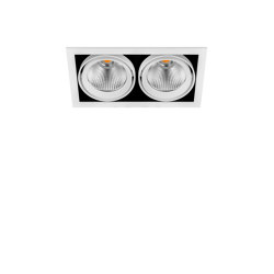 Hubble Double | wt | Recessed ceiling lights | ARKOSLIGHT