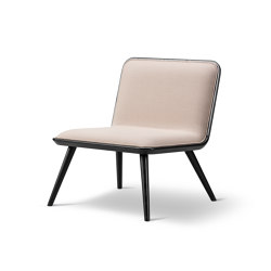 Spine Lounge Wood Base | Sessel | Fredericia Furniture
