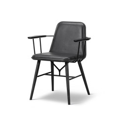 Spine Wood Base Armchair | Chairs | Fredericia Furniture