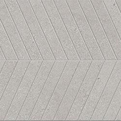 Lagom | Cold Cemento Chevron | Pavimenti ceramica | Marca Corona