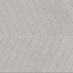 Lagom | Cold Cemento Chevron | Ceramic flooring | Marca Corona