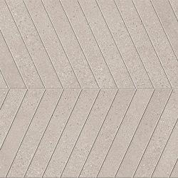 Lagom | Warm Cemento Chevron | Ceramic tiles | Marca Corona