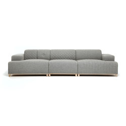 Lovestory 3-seater | Divani | Loook Industries
