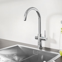 GROHE Blue Professional C-spout | Kitchen taps | GROHE