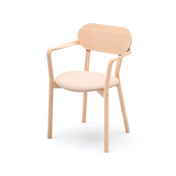 Castor Armchair Plus Pad | Chairs | Karimoku New Standard